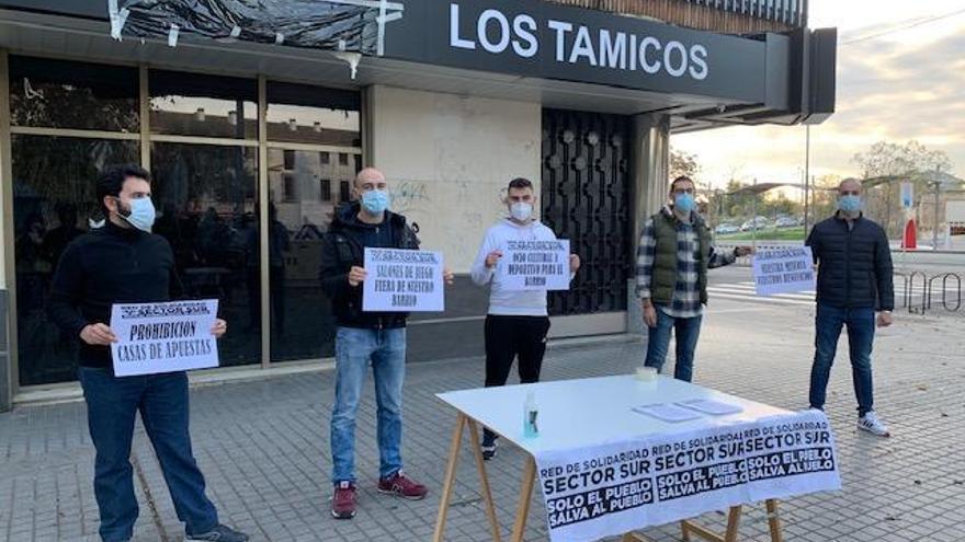 """Vecinos del Sector Sur denuncian la apertura de una nueva casa de apuestas """"en plena crisis"""""""