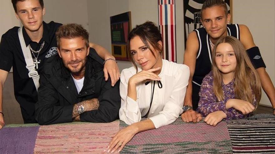 El clan Beckham, millonaria carne de 'reality'