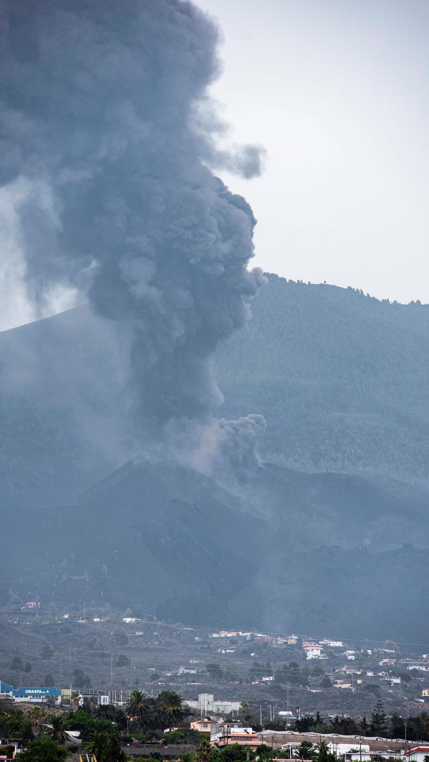 La erupción volcánica de La Palma continúa activa