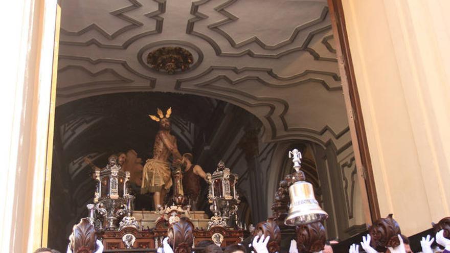 Autorizan la procesión extraordinaria de Azotes y Columna y el rosario de Lágrimas y Favores