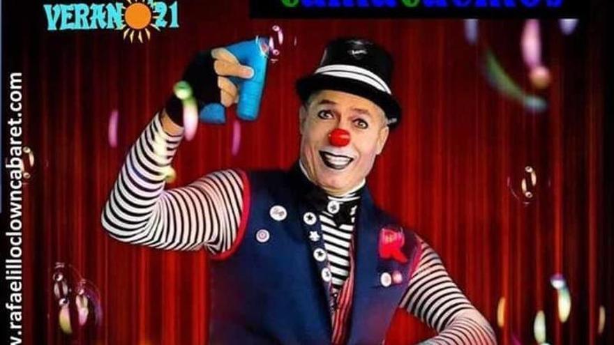 Rafaelillo Clown ameniza el próximo sábado a los más pequeños del municipio