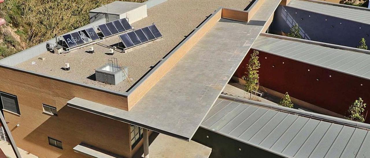 Edificio que albergará el Centro Específico de Enfermos Mentales de Alcoy.
