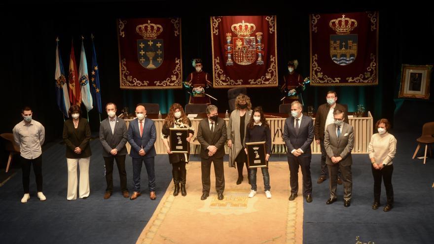 """Los Ciudad de Pontevedra premian """"la entrega y el compromiso"""" de los sanitarios"""