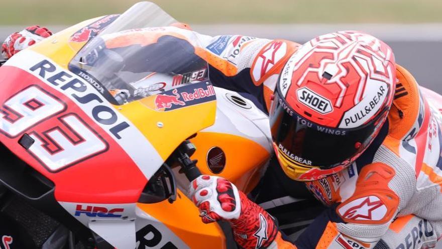 Marc Márquez, ante el reto de reforzar su liderato en el GP de Gran Bretaña