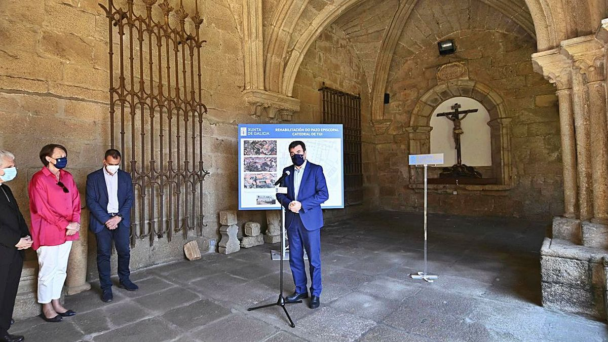 La conversión en museo del pazo episcopal tudense, a punto   FDV