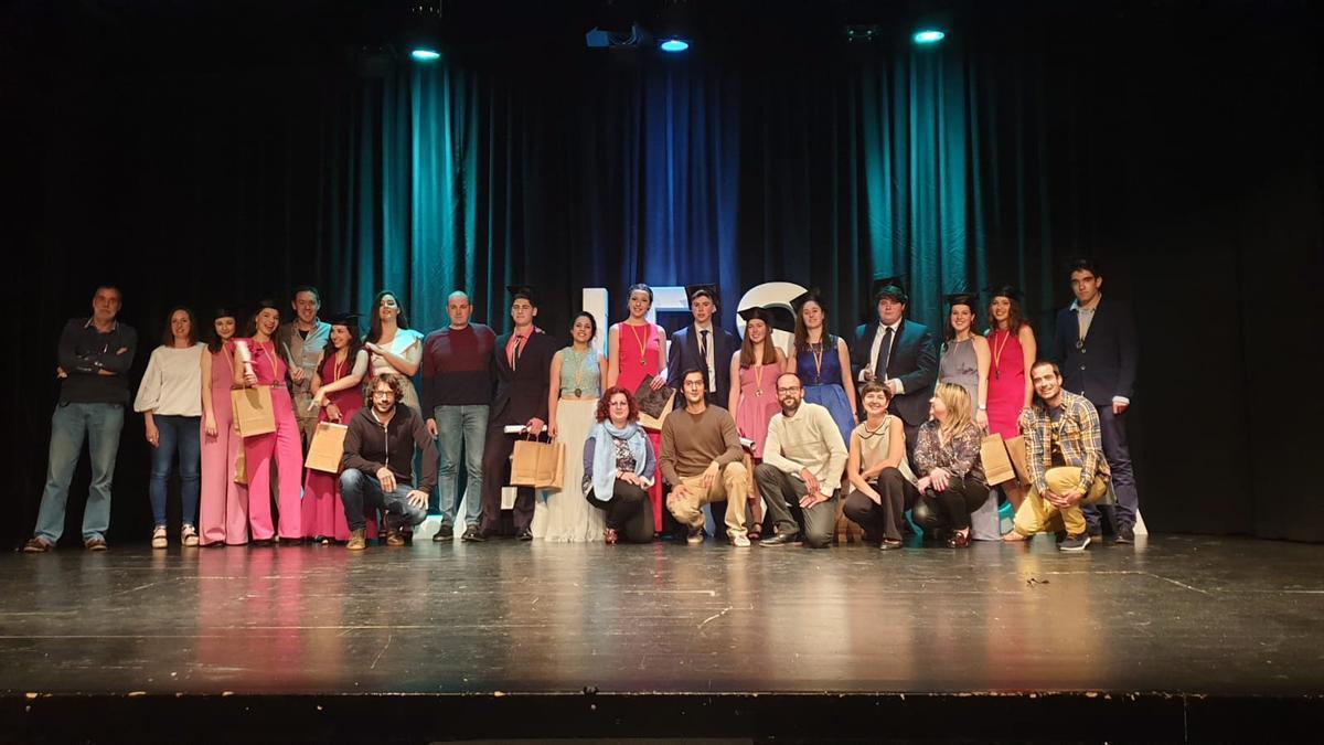 Imagen de archivo de un acto de graduación