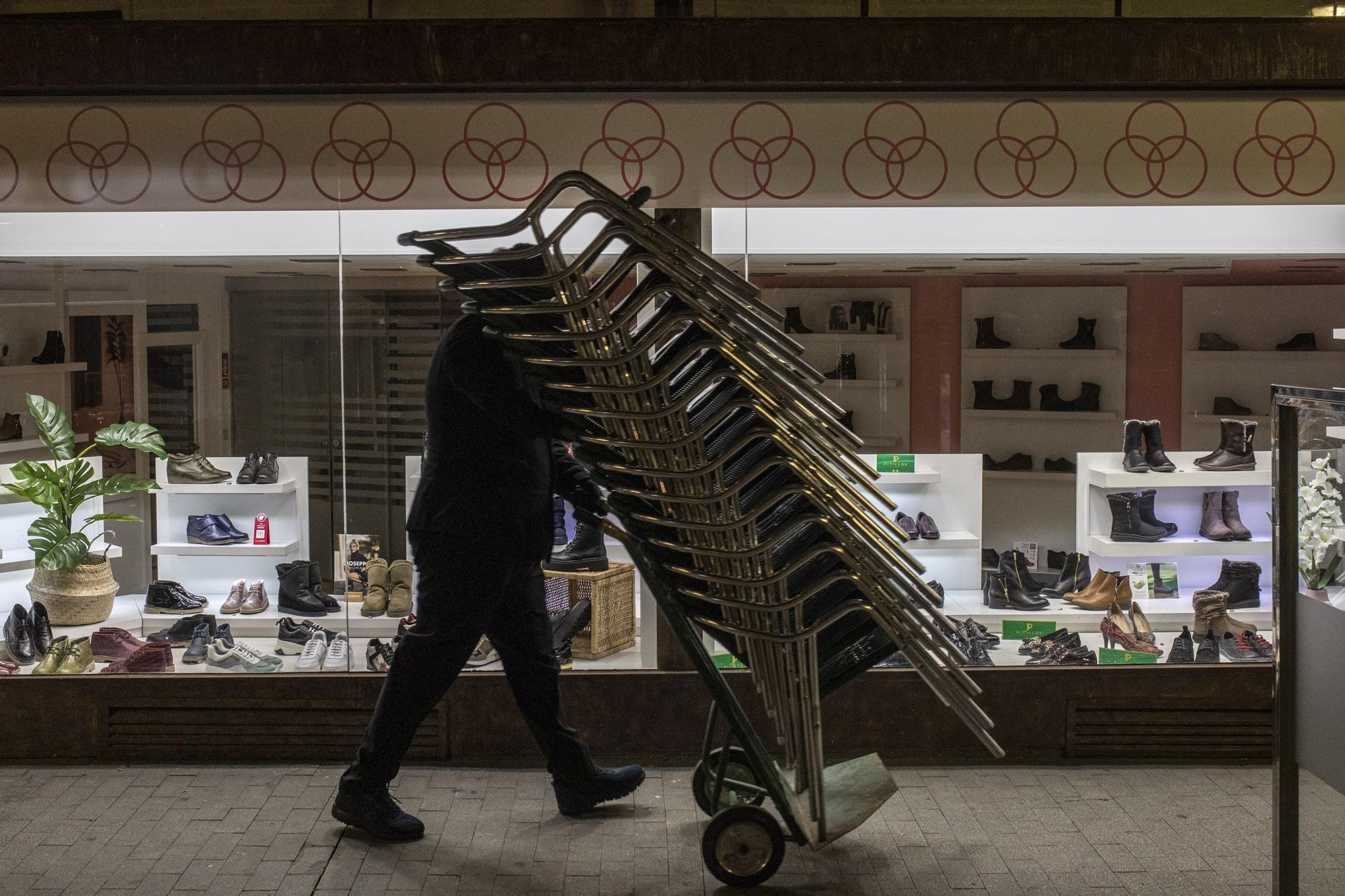 Las imágenes de Zamora bajo el toque de queda