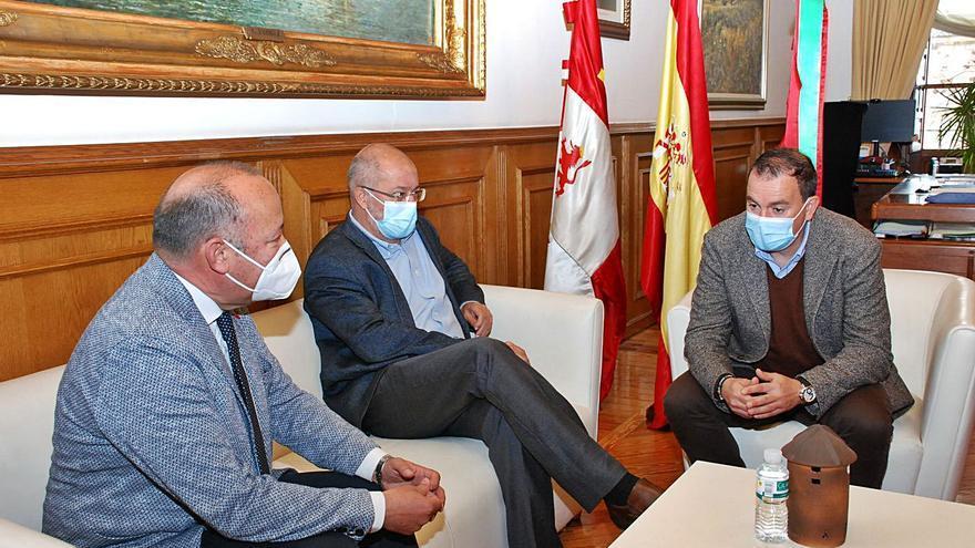 Igea respalda a Zamora en su batalla por recuperar el tren madrugador a Madrid