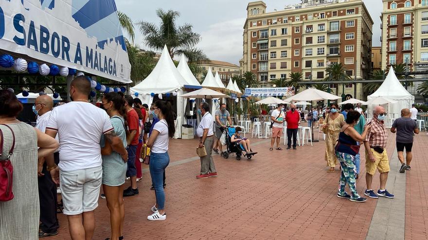 El Gran Mercado Sabor a Málaga supera los 72.000 visitantes en su primera edición de verano