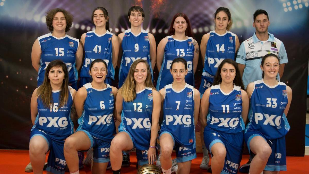 Integrantes del equipo femenino senior. // S. Álvarez