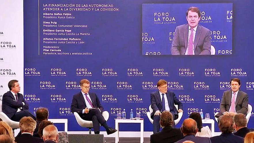 Mañueco reclama que España mire hacia el interior en su diálogo sobre el futuro