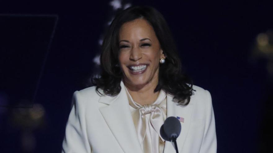 """Harris, primera mujer vicepresidenta: """"No seré la última"""""""