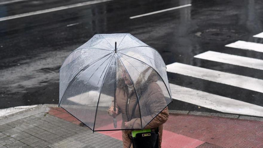 La influencia de una borrasca dejará chubascos y caída de las temperaturas