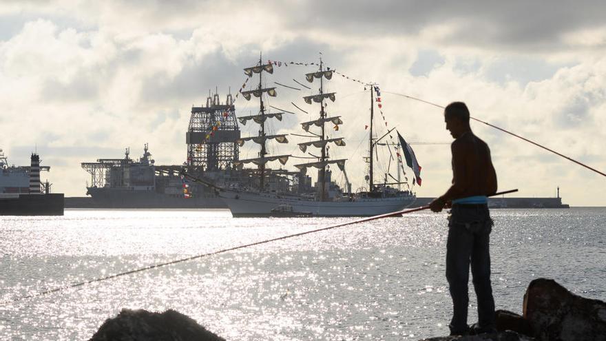 La llegada a Puerto más espectacular