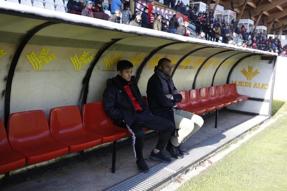 El Zamora - Mallorca de Copa del Rey, en imágenes.
