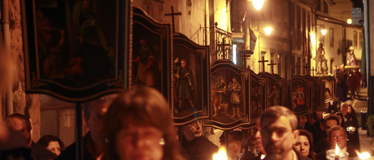 Arcos de Valdevez seduce con los actos de su Semana Santa