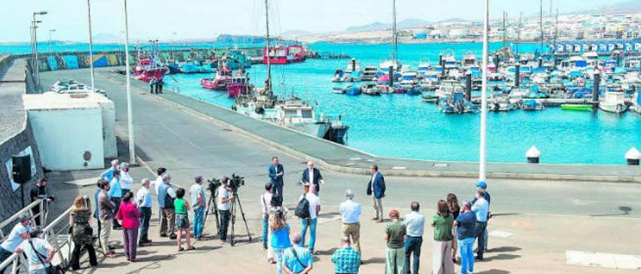 El Cabildo se propone convertir Taliarte en un referente científico y pesquero