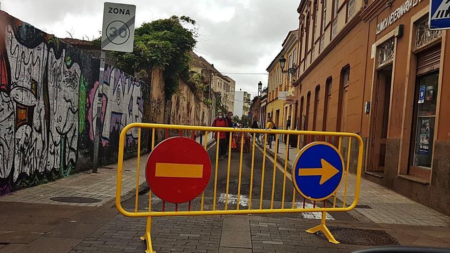 Luis Yeray pide perdón por el cierre precipitado de la calle San Antonio