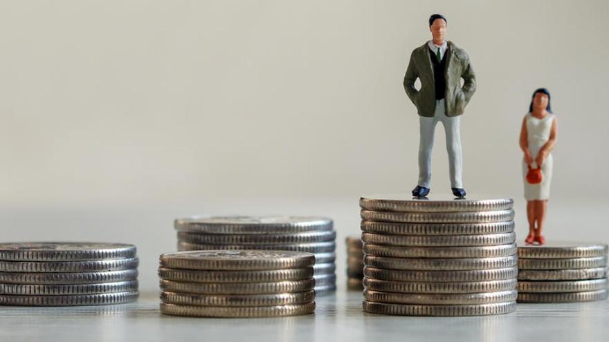 La brecha salarial ha aumentado un 0,9% en España.