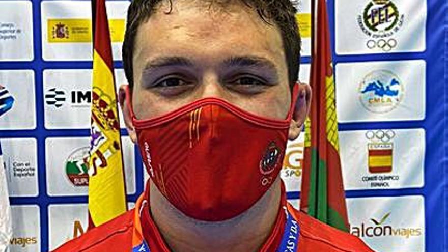 Iván Álvarez, oro en el Internacional Promesas