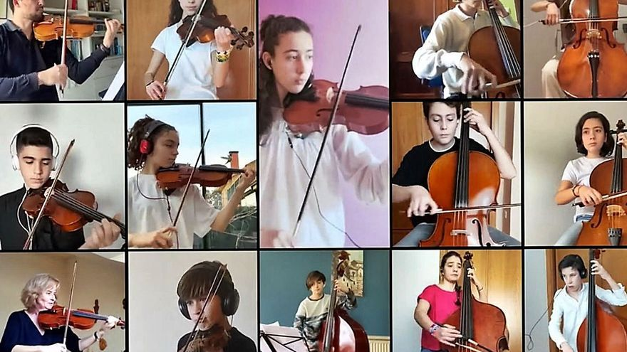 Concierto por internet de la Escuela Municipal de Música