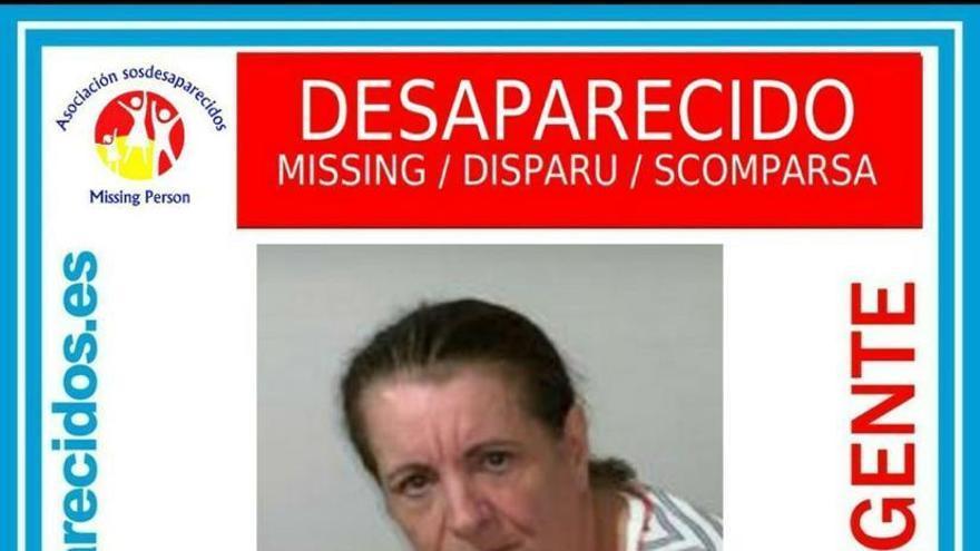 Ángela Melián, desaparecida en Santa Lucía