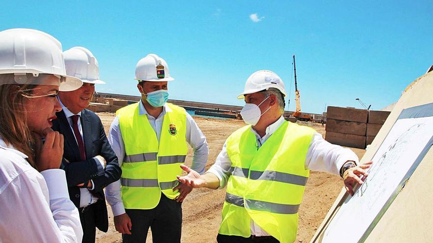 Yaiza reclamará al Cabildo que apoye la llegada de cruceros a Playa Blanca