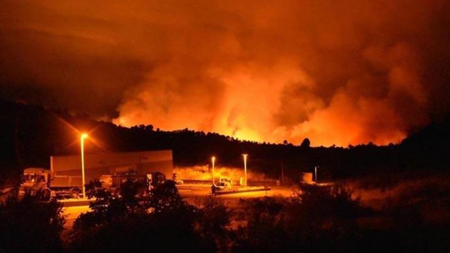 Se rebaja la alerta por incendios forestales excepto en Garafía y Tijarafe