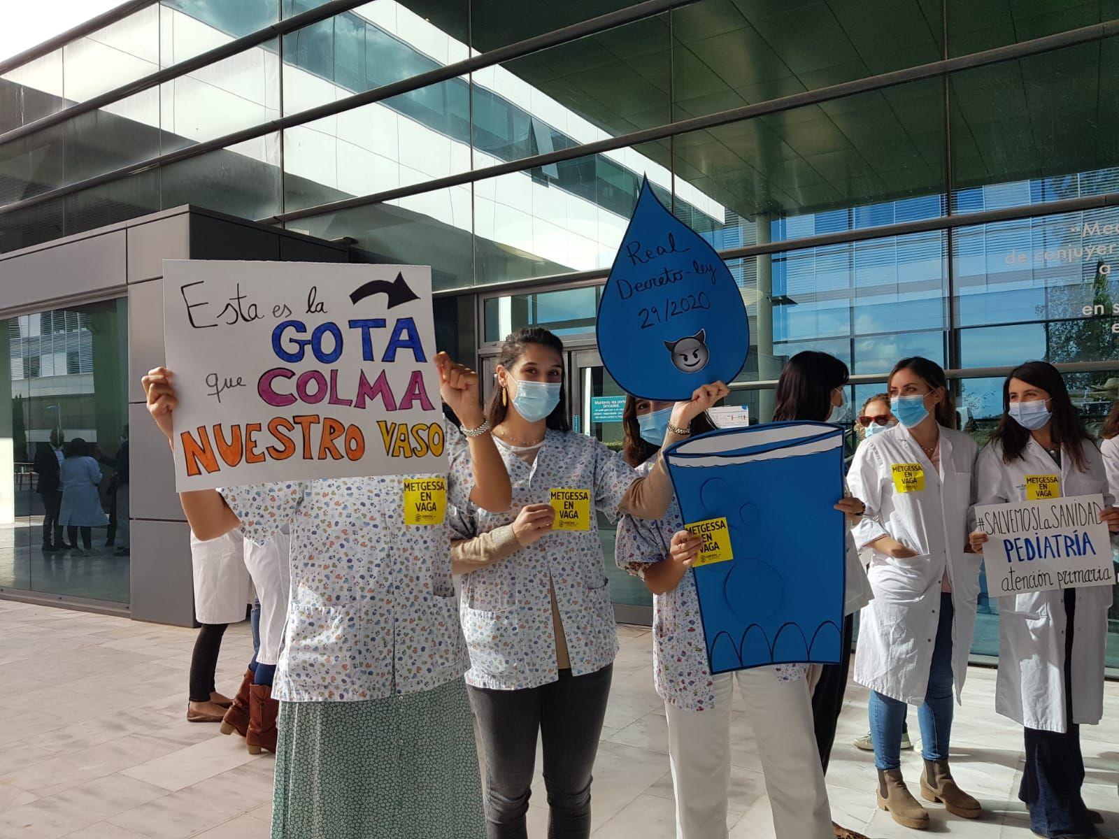 Huelga de médicos en Baleares