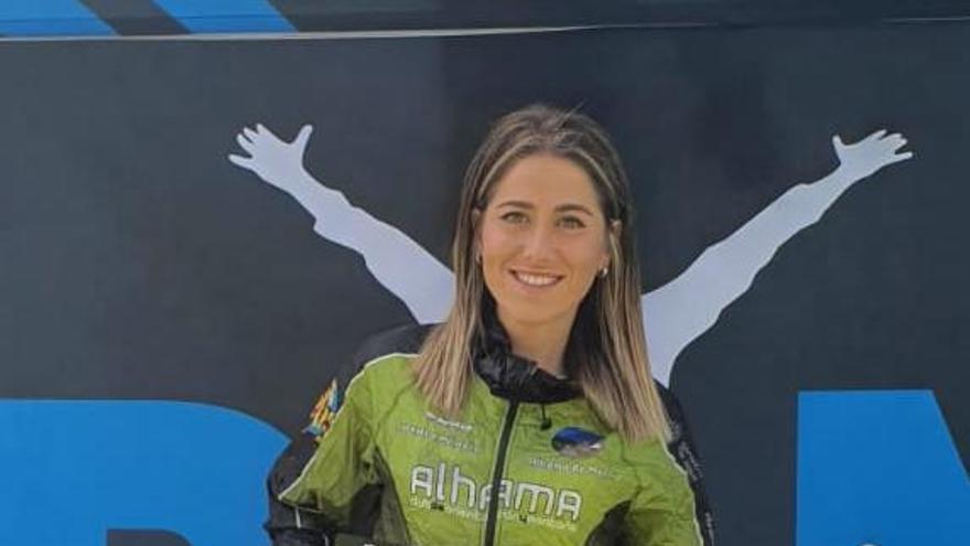 La alhameña Elvira Gutiérrez, mejor española y tercera en la Transgrancanaria