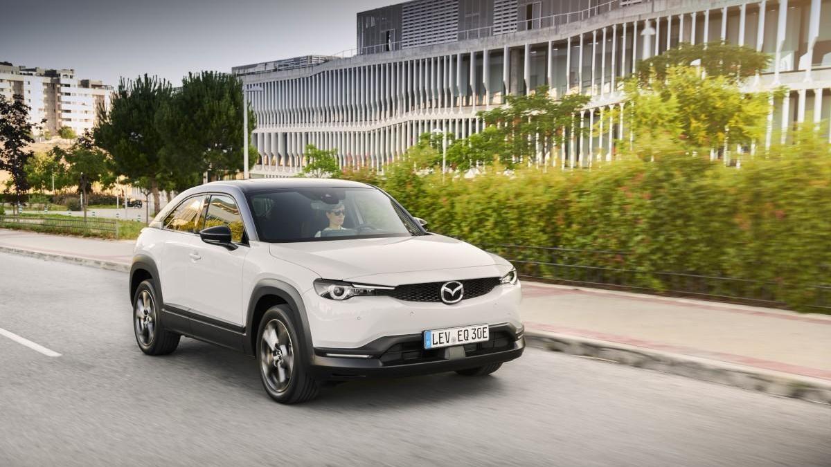 Mazda MX-30, sofisticación eléctrica