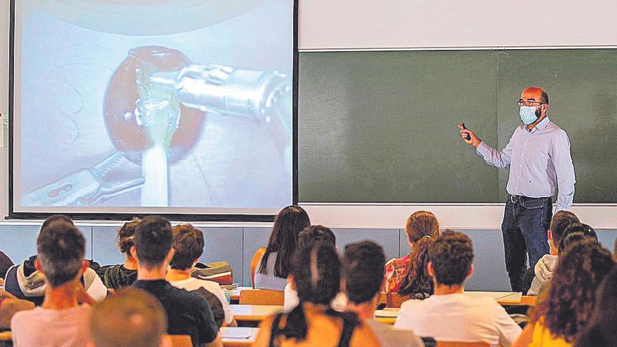 Formación a los alumnos del Grado en Ingeniería Biomédica de la UPCT
