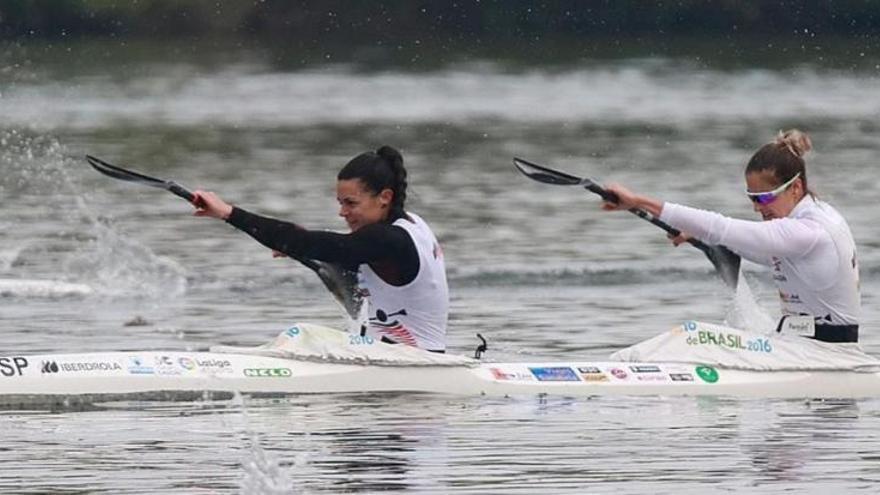 Eva Barrios y Laura Pedruelo se cuelgan el bronce en K-2 500 metros