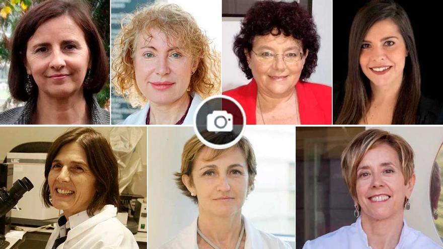 """Siete candidatas gallegas propuestas al """"Top 100 mujeres líderes en España"""""""