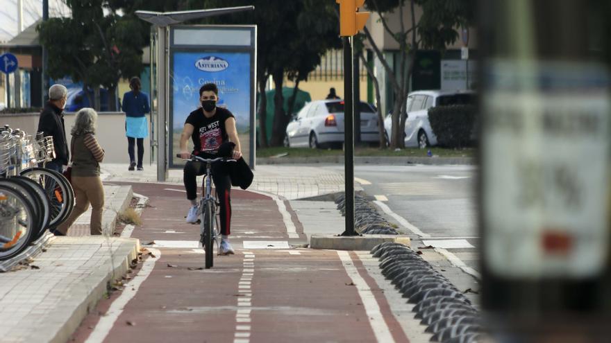 Movilidad diseña 16 vías de carril bici y quiere tener este año los anteproyectos
