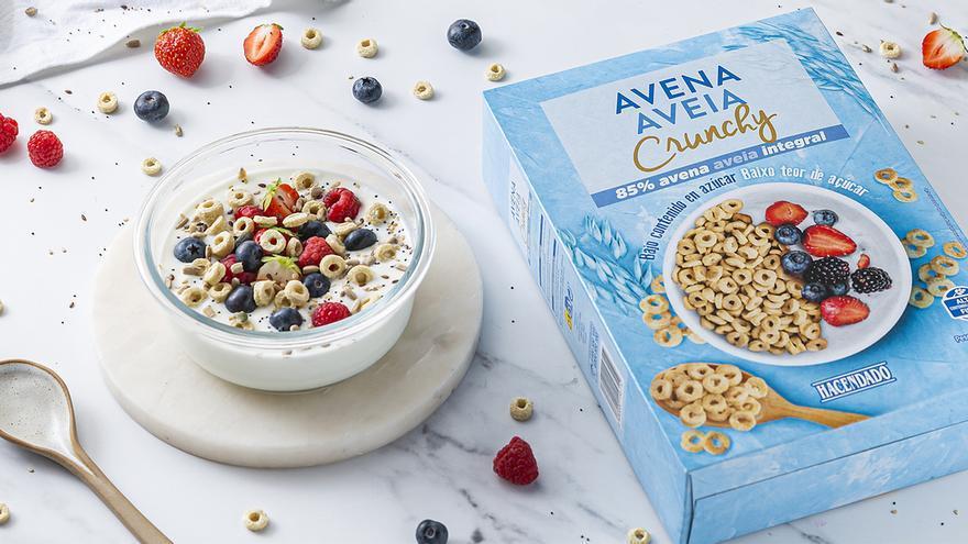 Mercadona arrasa en ventas con sus nuevos cereales 'Avena Crunchy' que tienes que probar