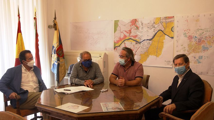 Guarido recibe en Zamora al candidato del Partido Socialista de Portugal