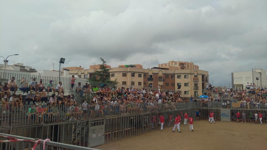 Vilafranca suspende por segunda vez su novillada y Nules mantiene el concurso de recortes, pese a la lluvia