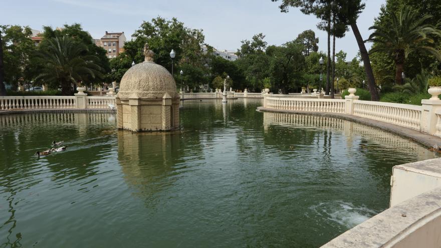 Las cinco incógnitas por la muerte de un mendigo en el estanque del Parque Ribalta en Castelló
