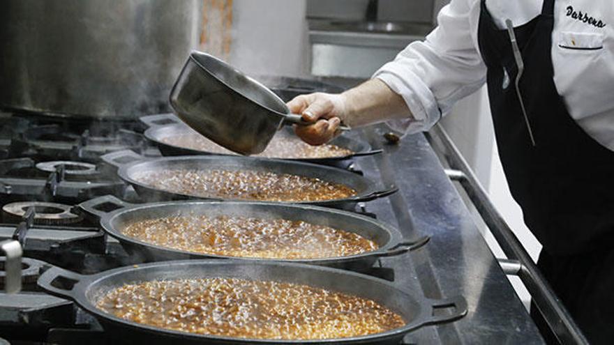 El restaurante Dársena celebra su cita anual con los amantes del arroz