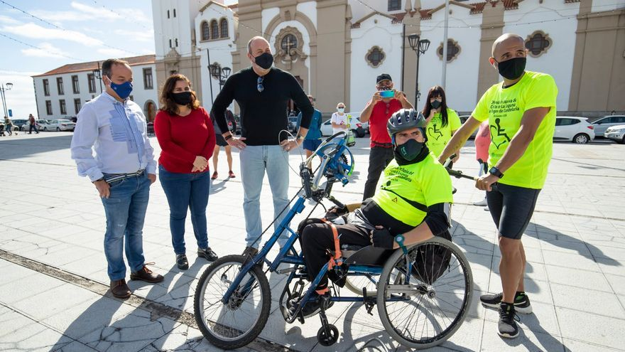 Del Cristo a Candelaria con handbike