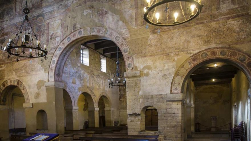 Santullano, más de un siglo de piedra vista