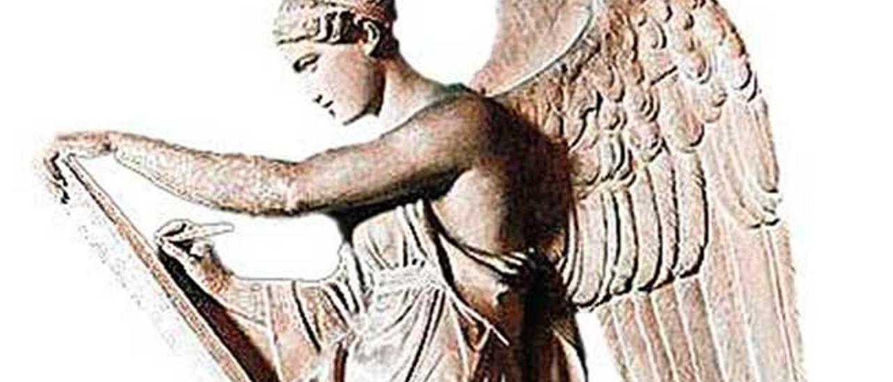 La diosa Némesis.