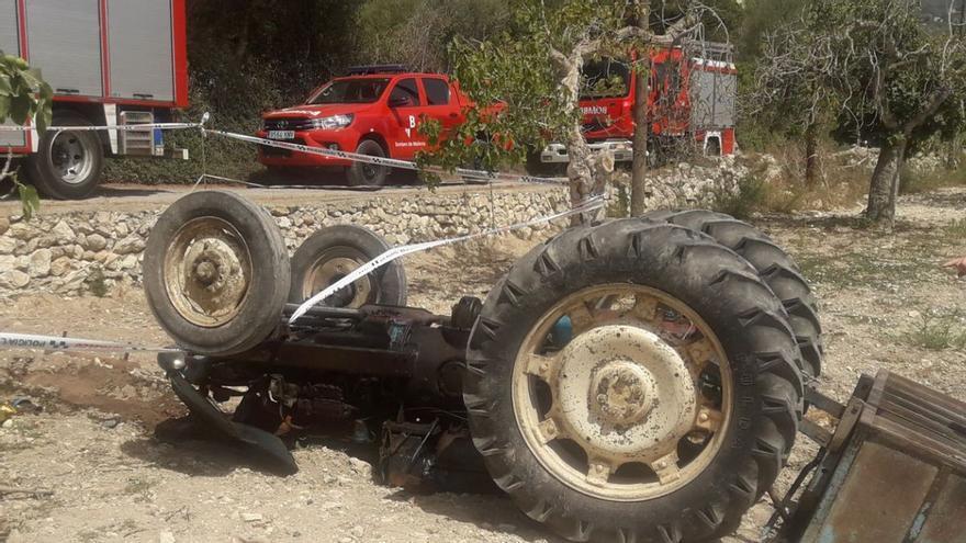Mann stirbt bei Traktorunfall im Osten von Mallorca