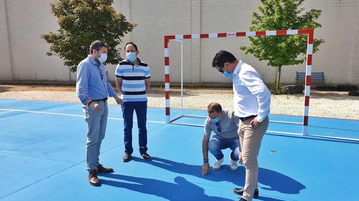 El Ayuntamiento de Caravaca acomete la mejora en diferentes pistas deportivas