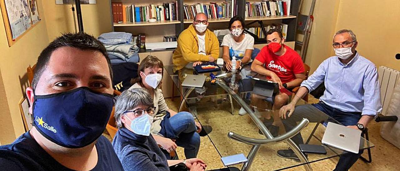 Voluntarios de la Fundación La Salle Acoge. | L-EMV