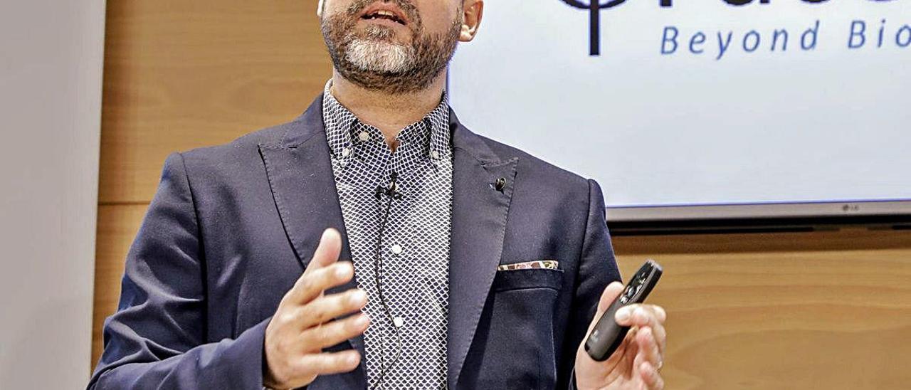 El CEO de la compañía tecnológica, Javier Mira.