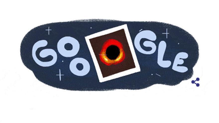 La primera imagen de un agujero negro, protagonista del doodle