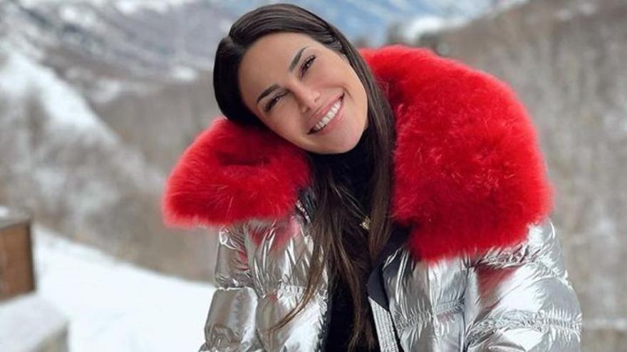 La sanitaria grancanaria Carla Barber, ingresada en el hospital tras sufrir un accidente en la nieve