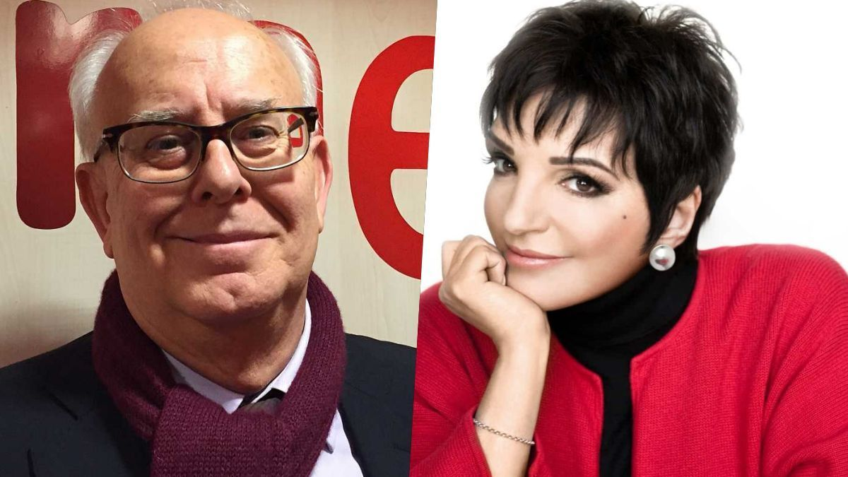 Ramon Colom y Liza Minelli.